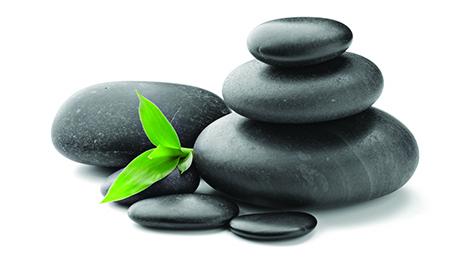 Masajes con piedras en casa!